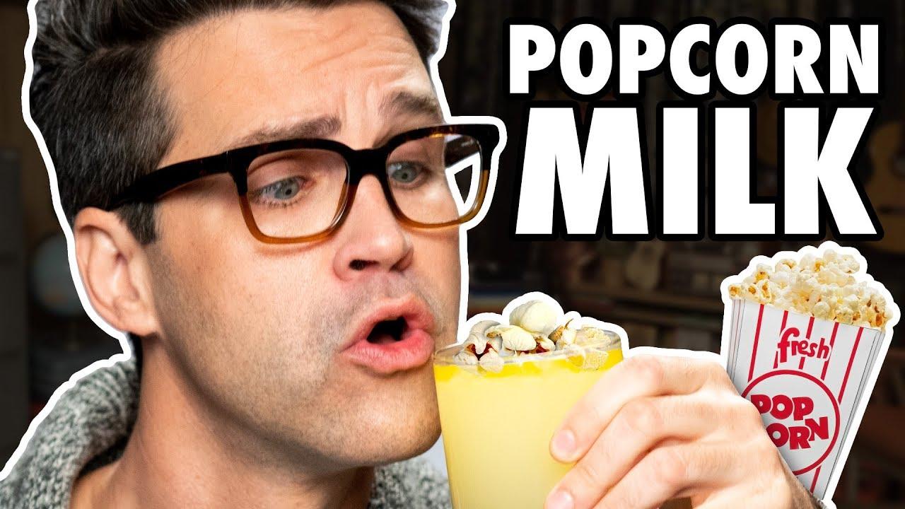 Popcorn Milk Taste Test