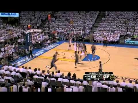 2011 NBA Playoffs: Grizzlies vs. Thunder Game 5  Highlights (2-3) (5/11/11)