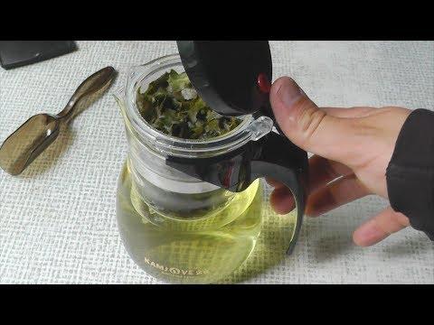 Чайник типот с кнопкой Kamjove для заварки чая со сливом - обзор, мнение. Завариваем Улун