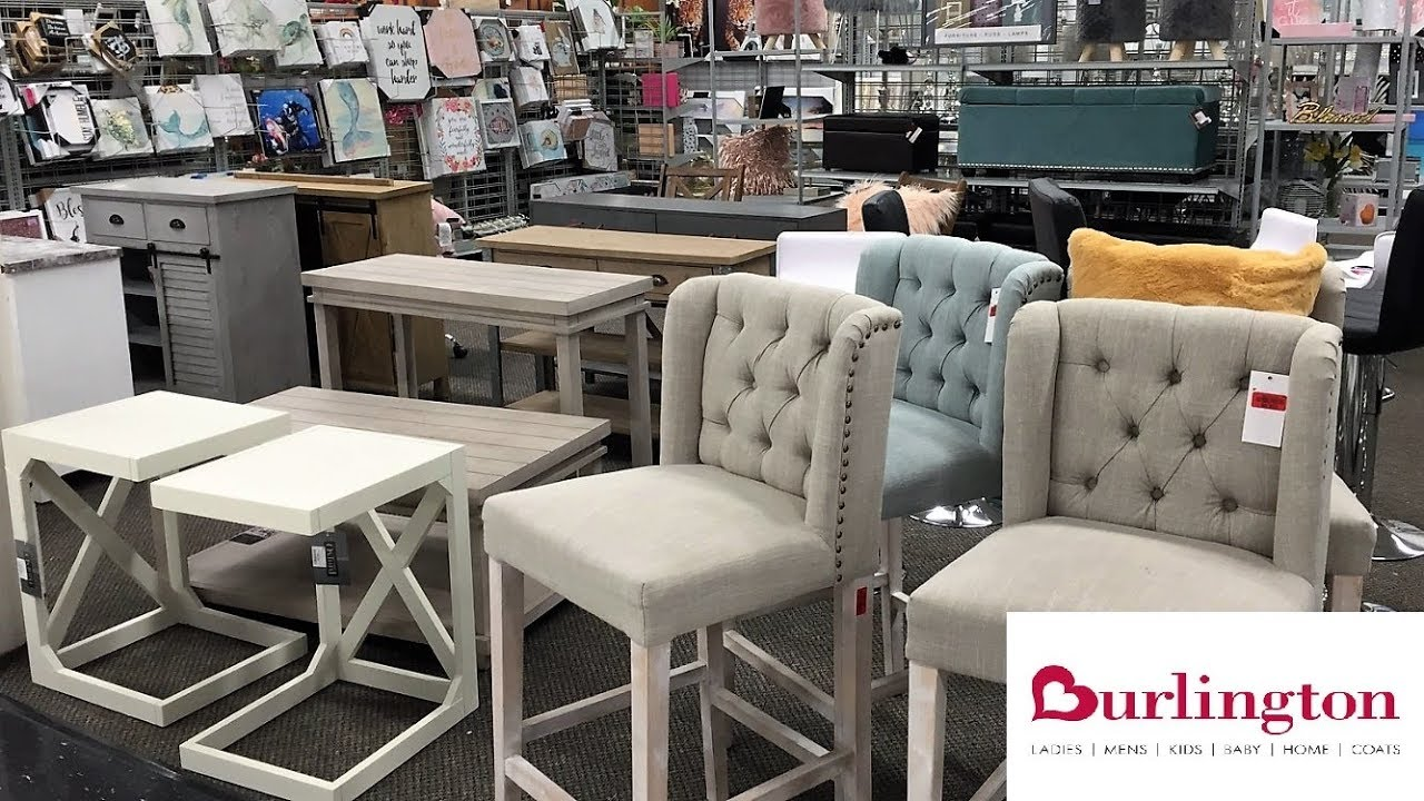 Burlington Furniture Chairs Tables Home Decor Shop With Me Shopping