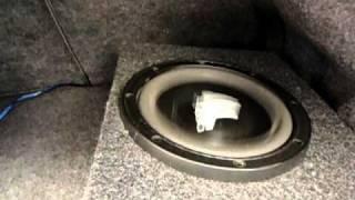 2 8w0's  JL Audio  2 8 inch JL Audio subs
