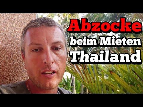 Abzocke Bei Mietobjekten In Thailand