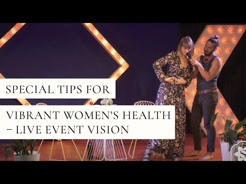 Special Women's Health Event: Live Podcast Recording, Workshop And Q & A!