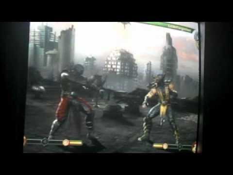 MK9 Online Match 3 (Scorpion vs Sheng Tseng/Ermac)
