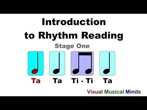 Introduction to Rhythm Reading: Stage One