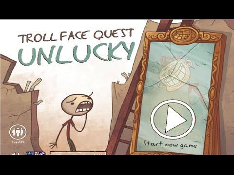 Troll Face Quest Unlucky Walkthrough