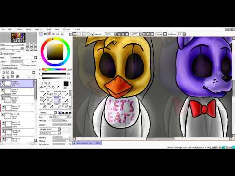 [SpeedPaint] The End (Five Nights at Freddy's 3)