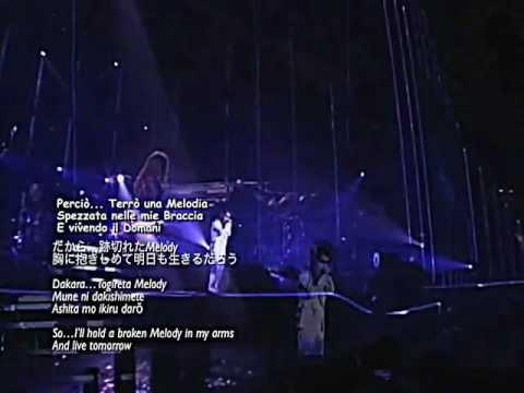 X Japan - Longing Togireta Melody Sub ita