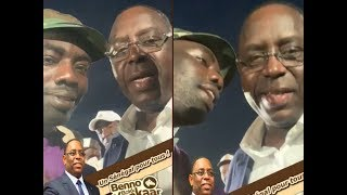 Niang Kharagne Lo en toute complicité avec le président Macky Sall et fait des...