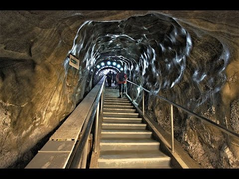 There's A Theme Park At The Bottom Of This Abandoned Salt Mine...