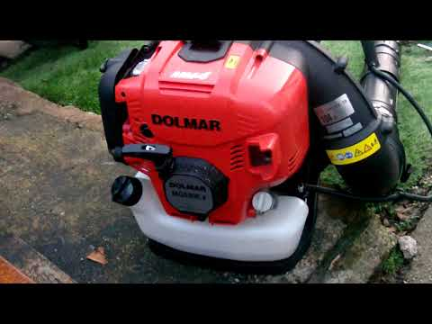 my back pack blowers and brush cutter 02