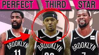 Bradley Beal trade to Nets makes them NBA CHAMPS [PERFECT THIRD STAR]
