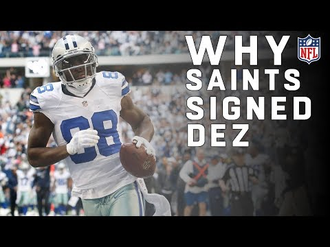 Why Did The Saints Sign Dez Bryant Nfl News Youtube