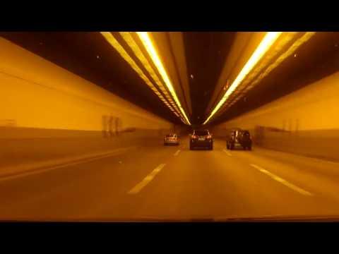 Europe Highways - Amsterdam Paris (Timelapse)