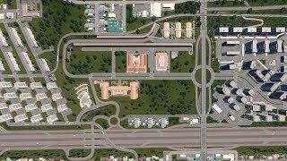 Miejsce pod kampus szkoły humanistycznej - Cities: Skylines Campus DLC