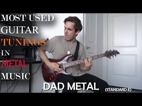 The Most Used Guitar Tunings In Metal Music