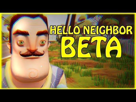 HELLO NEIGHBOR BETA 2 gameplay
