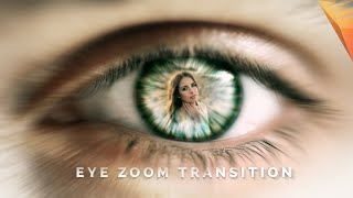 After Effects Tutorial Eye Zoom Transition