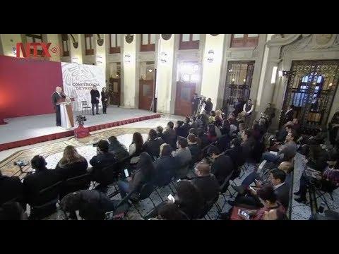 Conferencia de prensa de AMLO del 31 de enero