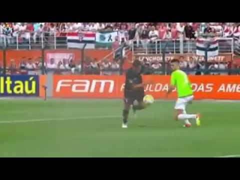 Os gols de São Paulo 5x0 Santa Cruz