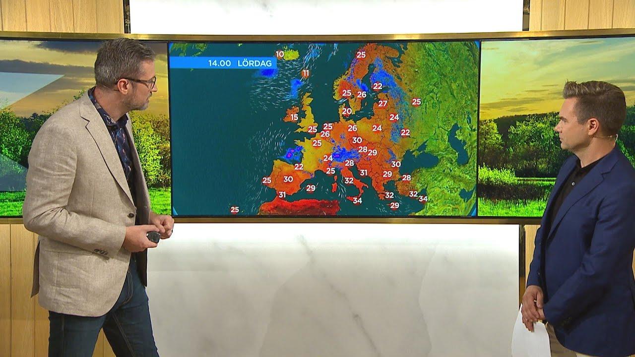 Äntligen regn – här är dagens väderspecial - Nyhetsmorgon (TV4)