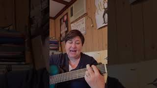 Miss Louise plays REDEMPTION SONG by Bob Marley