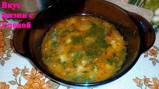 Суп из Кабачков. Легкий супчик./Zucchini soup
