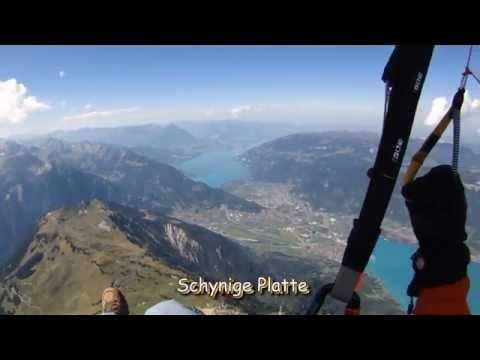 Paragliding From Grindelwald-First To Interlaken