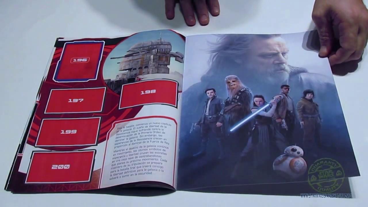 Topps-sticker 7-Star Wars-los últimos Jedi