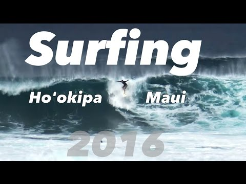 Ho'okipa Surfing 2016 Compilation