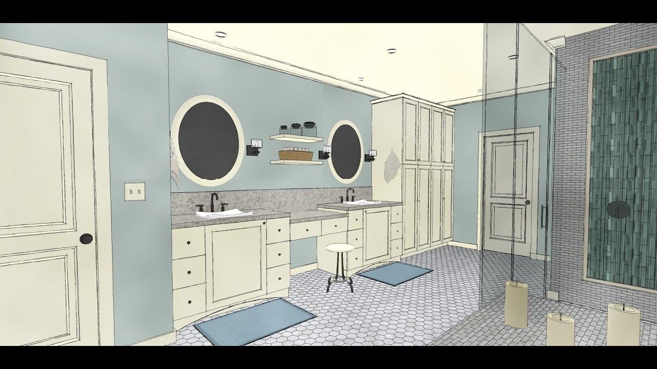 chief architect x8 bathroom webinar youtube. Black Bedroom Furniture Sets. Home Design Ideas