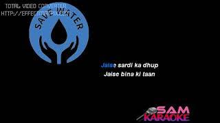 Ek Ladki Ko Dekha Sanam Puri Karaoke lower keys - 1