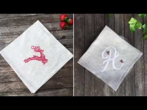 Personalised Christmas Table Linen