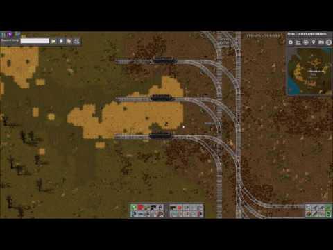 Factorio Workshop - Building A Better Factory :: Train Stacker & Station Setup