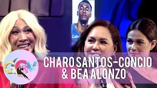 Bea Alonzo, Charo Santos-Concio and Vice Ganda ask a question to Calvin Abueva | GGV