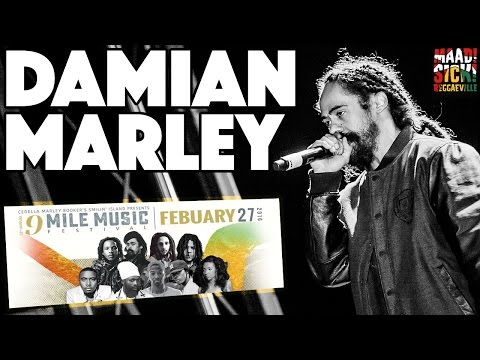 Damian Marley - War @9 Mile Music Festival in Miami [February 27th 2016]