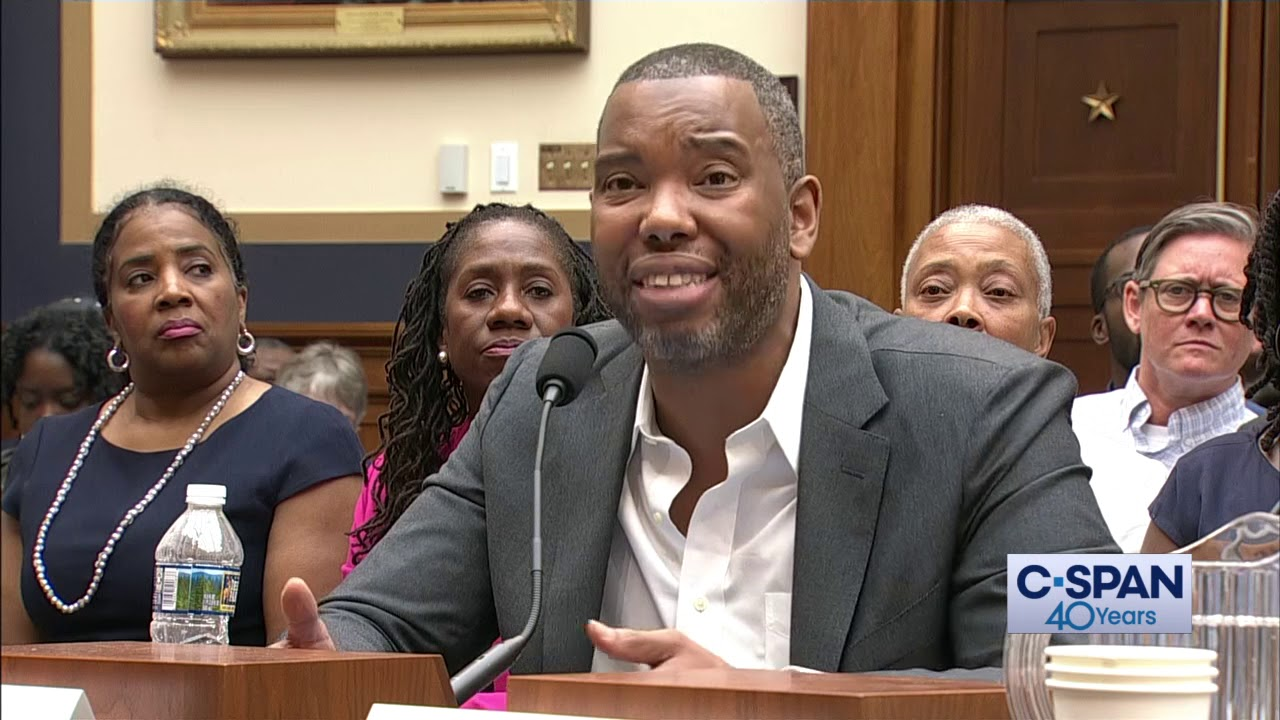 Ta-Nehisi Coates Says Black People Continue to Suffer from the Impacts of Slavery