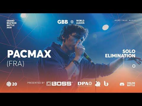 PacMax | Grand Beatbox Battle Online 2020 | Solo Elimination #6