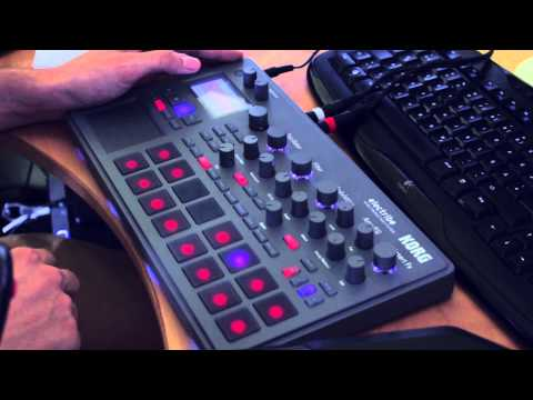 KORG Electribe 2 - Tech House / Ambient Patterns