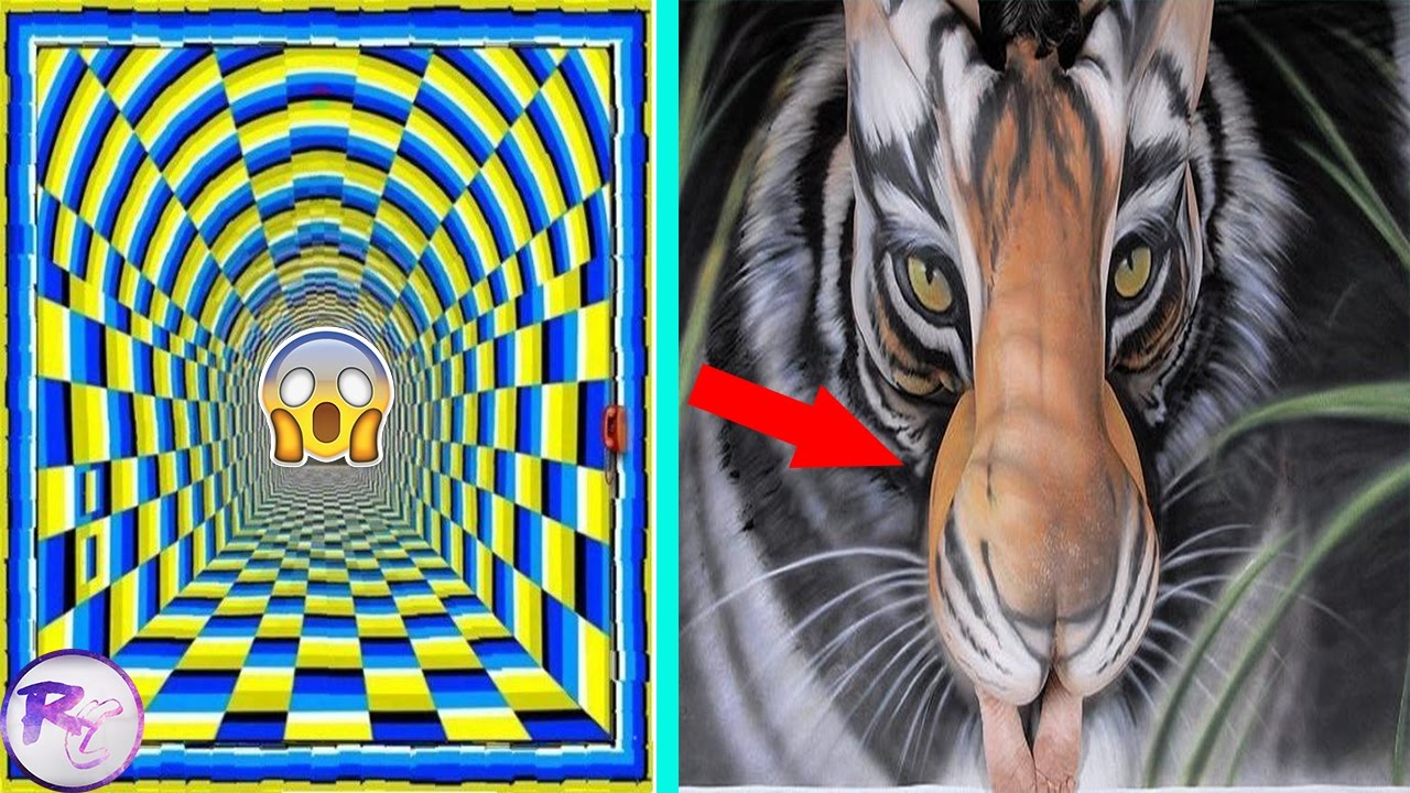 illusions optical craziest mind blow