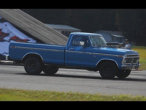 Ford Nationals Street Drags 2017