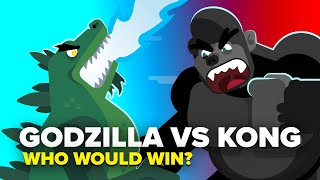 Godzilla vs Kong - The Ultimate Monster Showdown - Who Would Actually Win?