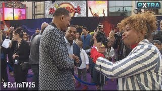 Will Smith on Who Convinced Him to Join 'Aladdin,' Plus: His 'Fresh Prince' Red Carpet Reunion