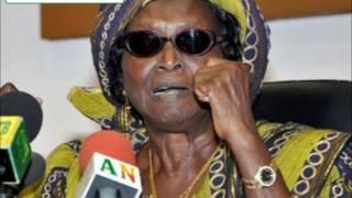 Audio - Réaction de l'honorable Rosine Soglo au sujet de l'arrestation de son fils, Léha