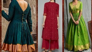 Dresses from old saree