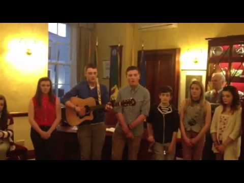 Teen Idol Champions in Lord Mayors Office
