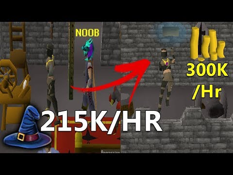 How To Actually Spin Flax LIKE A PRO! (215K Magic Exp/HR 70K Crafting Exp/HR And 300K Profit/HR)