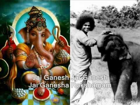 Jai Ganesha Pahimam Shri Ganesha Rakshamam - Sai Ganesha Bhajan