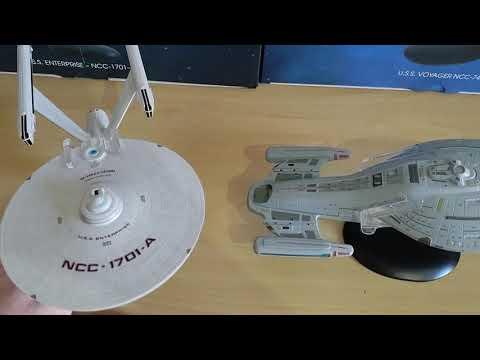 Naves Enterprise A E Voyager De Star Trek