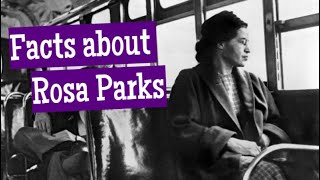 Facts about Rosa Parks for Kids